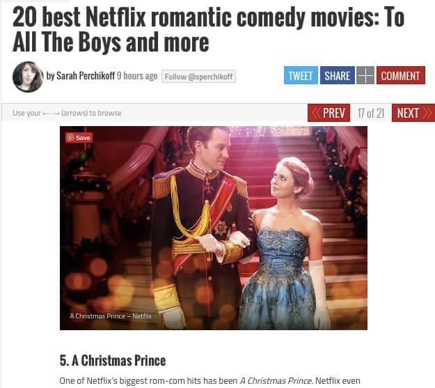 One of Netflix's Biggest Rom-Com Hits