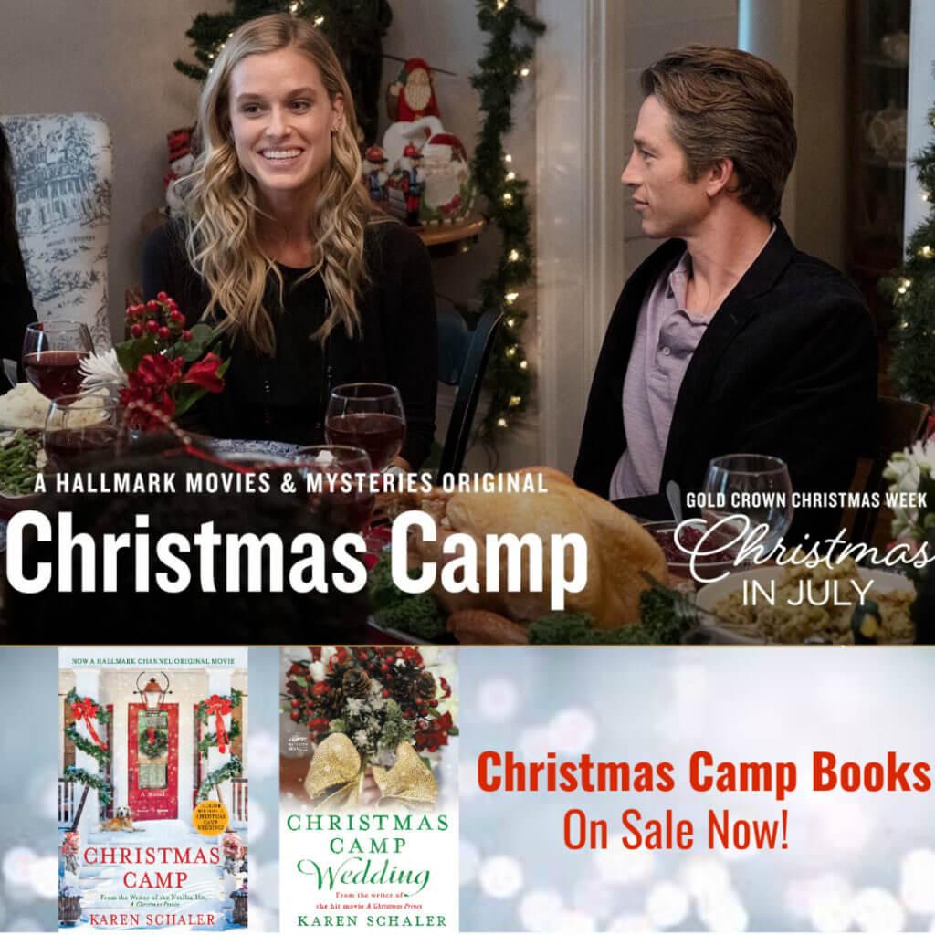 Hallmark Movies Christmas In July.My Hallmark Movie Christmas Camp Premiering July 11th